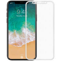 Защитное 3D стекло для Apple iPhone Xr белое