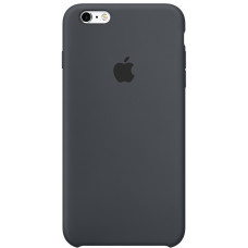 Чехол для телефона Apple Silicon Case для iPhone 6 Plus/6S Plus угольно-серый